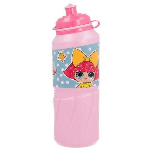 Official L.O.L Surprise! Large Sports Bottle -Pink 18.5 x 6 x 6 cm 530ml