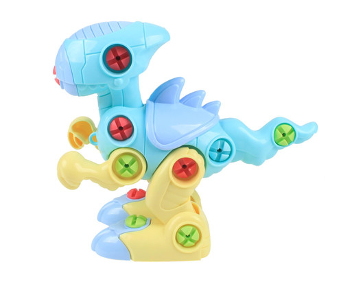 SOKA® Take Apart Assemble Your Own DIY Dinosaur Toy Construction Set – Puzzle Building Toy Dinosaurs for Kids Boys Girls aged 3 4 5 6 Years