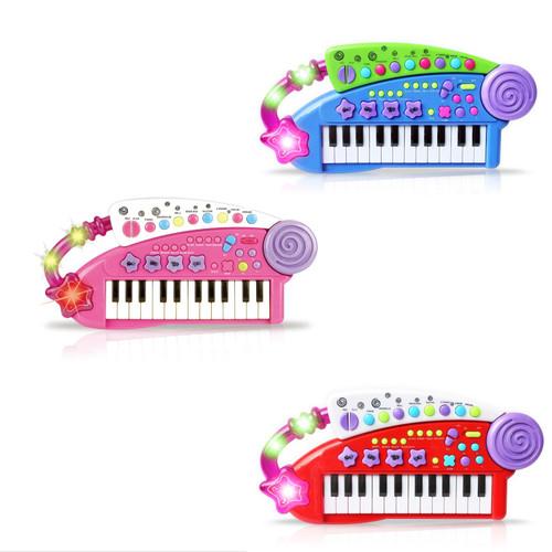 SOKA® Carry Along Keyboard Children Kids Musical Instrument Toy
