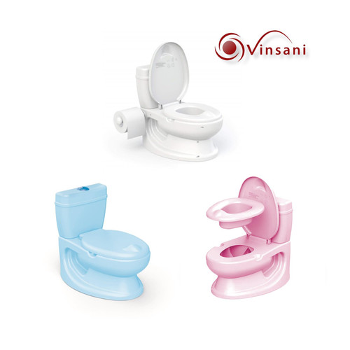 Vinsani® Toddler Infant First Potty WC - Educational Potty Training Aid Toy