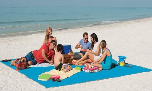 Vinsani Picnic Beach Mat Camping Outdoor Seaside Blanket Mat