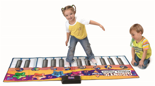 Vinsani Kids Musical Music Gigantic Indoor Outdoor Floor Keyboard Playmat