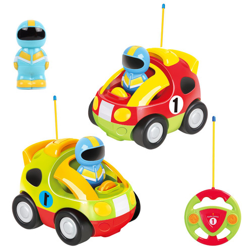 SOKA My First Remote Controlled Car for Toddlers with Light and Sound Toy car Birthday Gift Present for Boys Girls