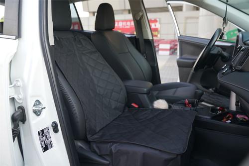Vinsani Black Waterproof Front Seat Pet Dog Protector Liner