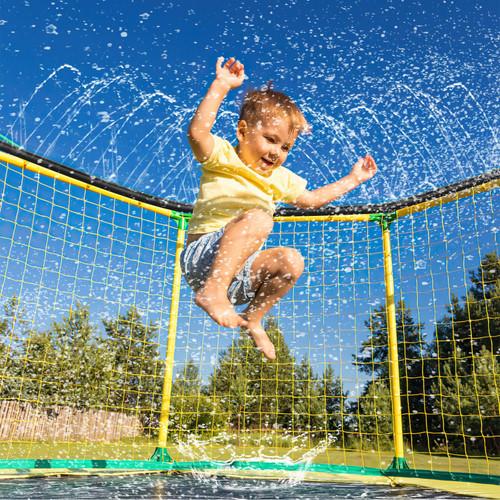 Vinsani Trampoline Sprinkler, Outdoor Waterpark Hose Water Sprayer, Trampoline Accessories for Summer Water Fun