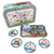 SOKA® Animal Design Metal Tea Set & Carry Case Toy for Kids - 18 Piece Illustrated Colourful Design Toy Tea Set for Children Role Play