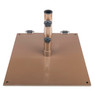 75LB Steel Plate Base with Wheel  by Frankford Umbrella