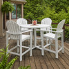 Newport Balcony Height Stationary Arm Chair By Telescope