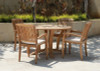 Daytona Teak Dining Table Set 5Pc