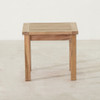 """Teak Side Table 20"""" Square by Classic Teak"""