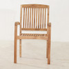 Marley Stacking Dining Chair by Classic Teak