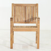 Marley Dining Arm Chair by Classic Teak