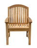 Glaser Dining Arm Chair by Classic Teak
