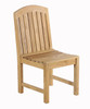 Glaser Dining Side Chair by Classic Teak