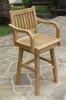 Teak Swivel Bar Chair by Classic Teak