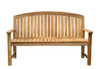 Glaser Teak Bench 5' by Classic Teak