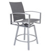 Pacifica FC Swivel Counter Stool with Arms by OW Lee