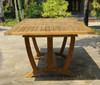 "Deluxe Rectangular Ext. Table 87""- 122"" XLarge"