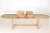 """Deluxe Oval Extension Teak Table 87""""- 122"""" XLarge"""