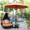 9 FT Sun Master Umbrella (Fiberglass Ribs Sunbrella)