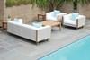 Catalina Wicker Lounge Set by Lloyd Flanders