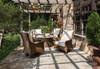 "48"" Round Fire Table Universal Loom  by Lloyd Flanders"