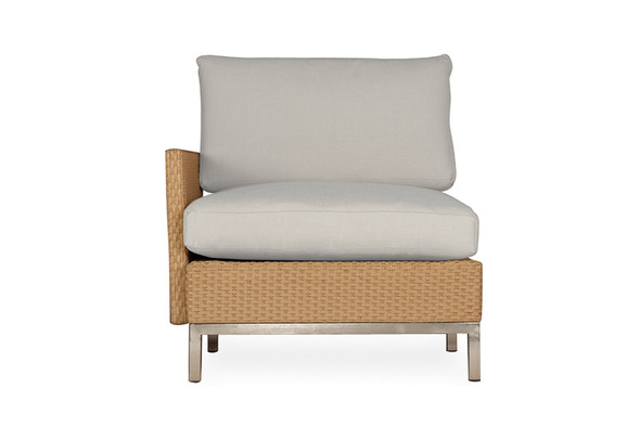 Element Right Arm Lounge Chair with Loom Arm & Back by Llyod Flanders