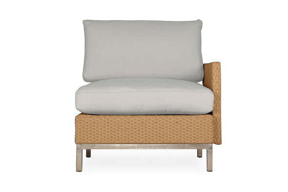 Elements Left Arm Lounge Chair with Loom Arm  by & Back By Lloyd Flanders