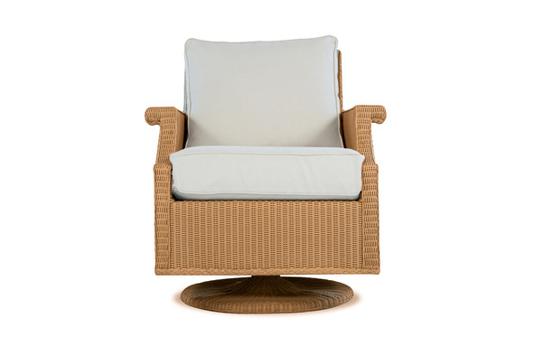 Hamptons Swivel Rocker Lounge Chair By Lloyd Flanders