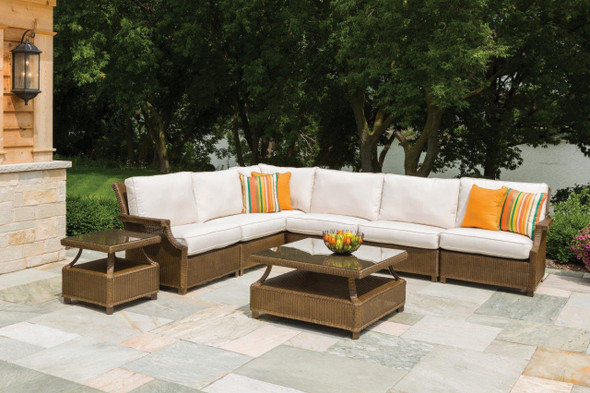 Hamptons Right Arm Sectional By Lloyd Flanders