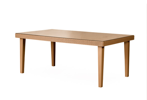 "Hamptons 73"" Rectangular Dining Table by Lloyd Flanders"