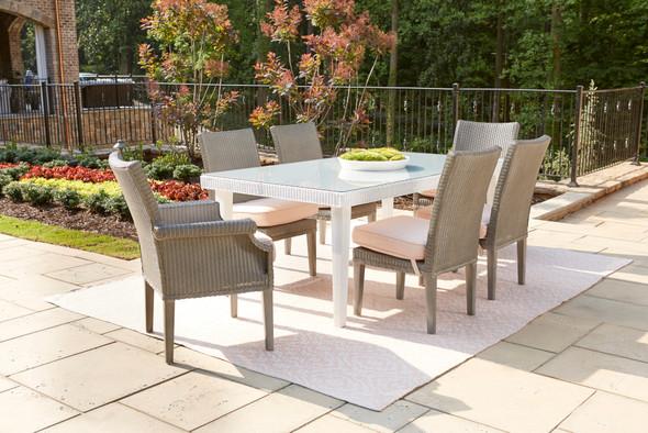 Hamptons Armless Dining Chair by Lloyd Flanders