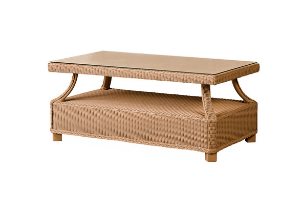 "Hamptons 43"" Rectangular Cocktail Table by Lloyd Flanders"