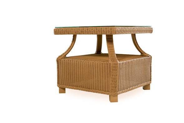 "Hamptons 23"" Square End Table by Lloyd Flanders"