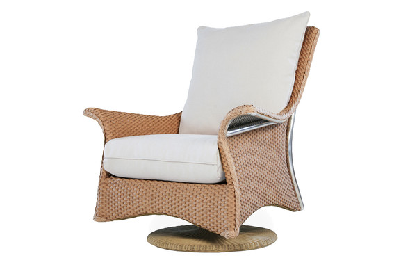 Mandalay Swivel Rocker Lounge Chair by Lloyd Flanders