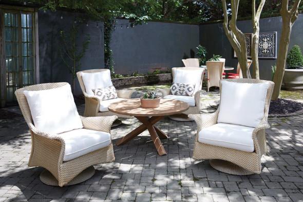 Mandalay Swivel Rocker Lounge Chair by Lloyd Flanders