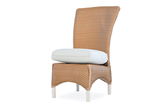 Mandalay Armless Dining Chair by Lloyd Flanders