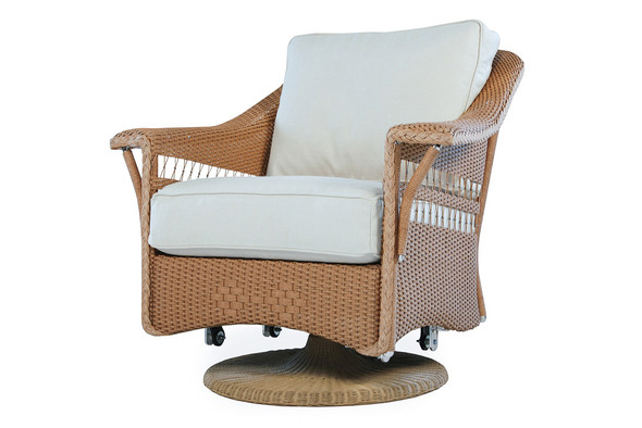 Nantucket Swivel Glider Lounge Chair By Lloyd Flanders