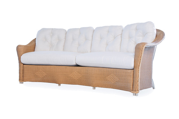 Reflections Crescent Sofa By Lloyd Flanders