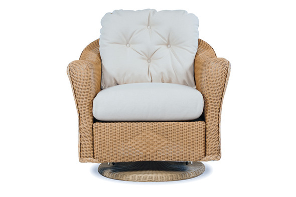 Reflections Swivel Glider Lounge Chair By Lloyd Flanders