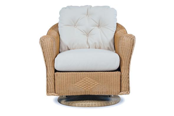 Reflections Swivel Glider Lounge Chair By Lloyd Flanders