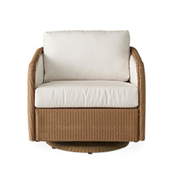 Visions Swivel Glider Lounge Chair by Lloyd Flanders