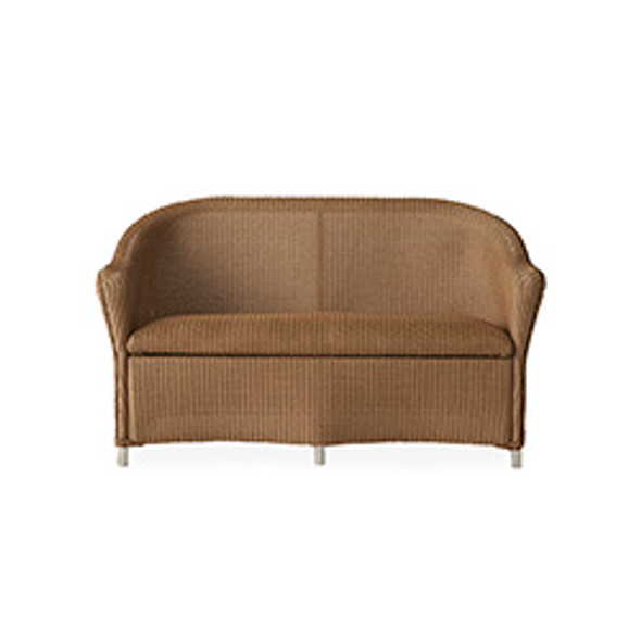 Reflections Loveseat with Padded Seat By Lloyd Flanders