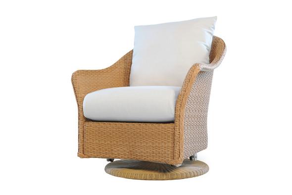 Weekend Retreat Swivel Glider Lounge Chair By Lloyd Flanders