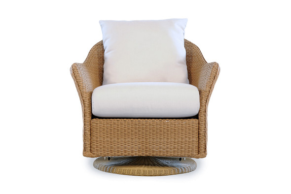 Weekend Retreat Swivel Glider Lounge Chair By Lloyd Flanders