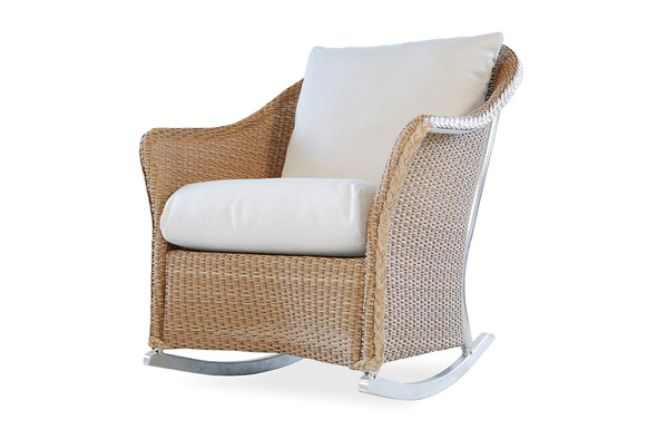 Weekend Retreat Lounge Rocker By Lloyd Flanders