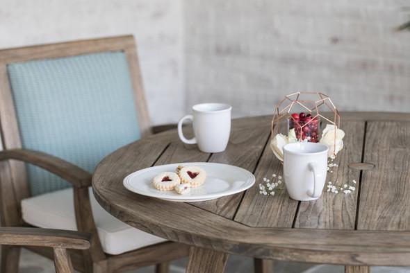 Wildwood Dining Armchair By Lloyd Flanders