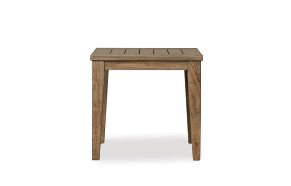 "Wildwood 24"" Square End Table By Lloyd Flanders"
