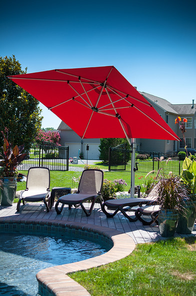 Aurora Premium 9F Cantilever Umbrella by Frankford