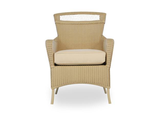 Universal Loom Dining Armchair 2x2 Weave By Lloyd Flanders
